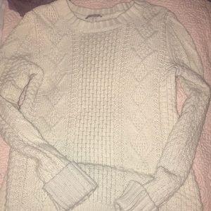 Cozy white sweater!